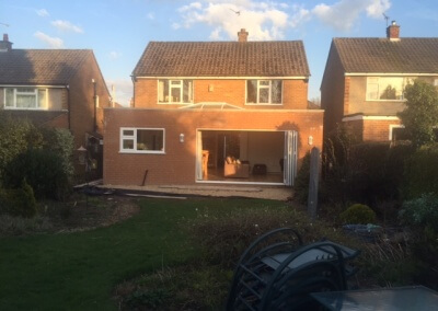 NEW REAR EXTENSION