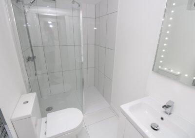 Oak Shower Room